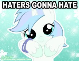 Haters Gonna Hate - Frozen  Rose by Shinta-Girl
