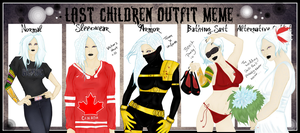 Outfit meme by Gothicpug
