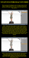 Statues for DAZ Studio Tutorial by Nathanomir