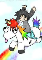 The Emo and the Unicorn by iNintendo
