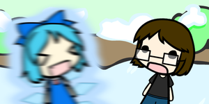 Random Walfas: Cirno's Speech (Link to Video) by Unknownfalling