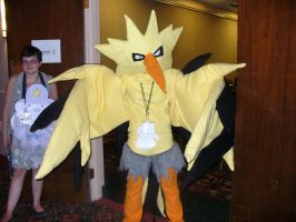 A legendary Zapdos appeared. by TheWildeOne