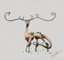 Forest Stag by Flooboo