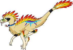 Linux The Utahraptor by virulentVirus