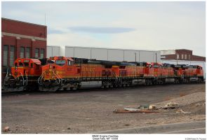 BNSF Engine Facilities by hunter1828