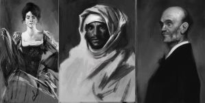 Old master studies 2 by Andres-Blanco