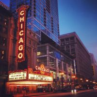 Chicago - State Street Theater by IMOInk
