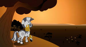 Zecora's Departure by thecoltalition