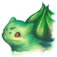 Bulbasaur by Pecole