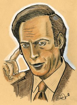 Saul Goodman Breaking Bad by coldgopher