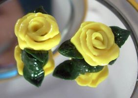 Yellow Roses by Talty