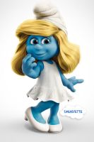 Smurfs the movie by Lemongraphic