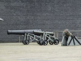 Royal Armories Canons 01 by ken581n
