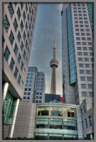 CN Tower by Rebacan