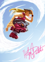 Helga G Pataki the Skater by Ashikai