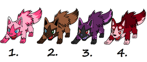 Poochyena Adopts *ONLY 5 POINTS* by tinttiyo