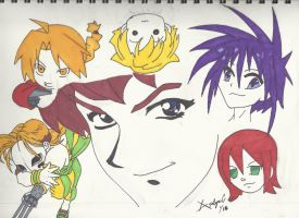 mash up Vic Mignogna (colored) by wolfy0258