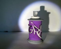 Paint Spray Graffiti by Vidal-Design