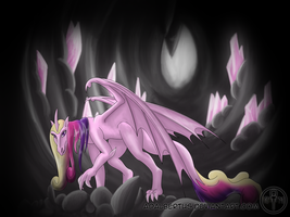 My Little Dragon: Princess Cadence by Adalbertus
