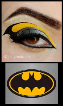 Batman Makeup by Lally-Hime