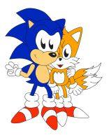 Sonic And Tails: Best Buddies Forever by ClassicSonicSatAm