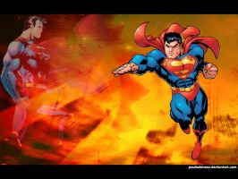 Superman under a Red Sun by pauloskinner