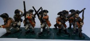 French Continental soldiers by Ninestar