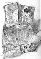 Ataraxia Page 2 Pencil by cronevald