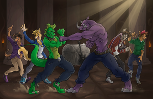 Nightriders The Battle Continues Part 46 by AxlReigns
