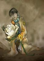 Little Prince Death of the Rose Dark by mr-macd