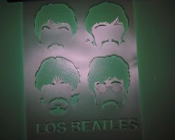Los Beatles by idrinkhotchai