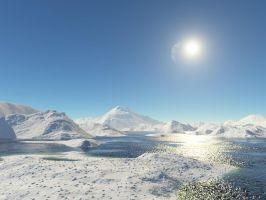 ice lakes by sstando