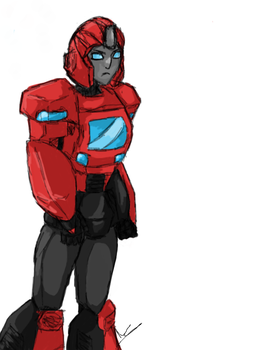 Ironhide for Emily by ToxicAapple