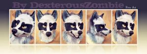 Mask + Tail For Sale by DexterousZombie