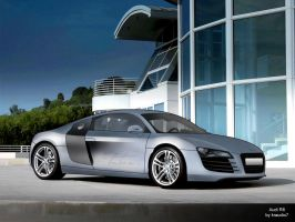 Audi R8 Final Vector by kraudio7