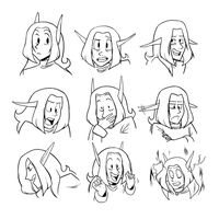 Evie Expressions by Mechandra