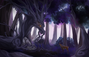 WIP Dragon Tree by whistlebliss