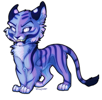 Bluuuuue by tigon