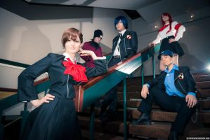 Persona 3 invading the place by Ichimy-Sama