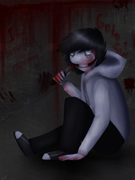 Jeff The Killer by Wolfy-Doll