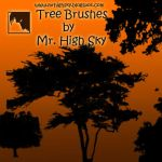 Trees Brushes by MrHighsky