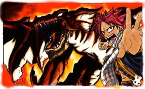 SPEED ART - Natsu Dragneel [Fairy Tail] by Naishys