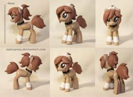 Mini pony Herp for Rannarbananar by AplexPony