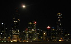 Brisbane by Night 3 by darkbhudda