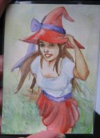 ACEO Commission: Faerywitch by winterqueen