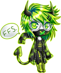 Neon Green by royo22