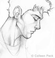 Edward Cullen Pencil by WieldstheKey