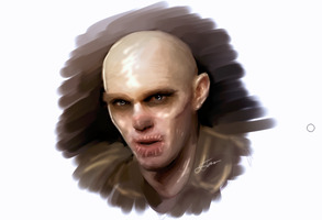 Mad Max Chris Hault Speed Paint by LuisFaus