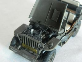 Jeep 'Willies' Engine View by Kingtiger2101