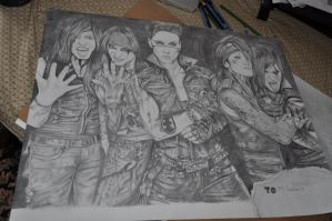 Black Veil Brides part 2 by GabbyKaulitz